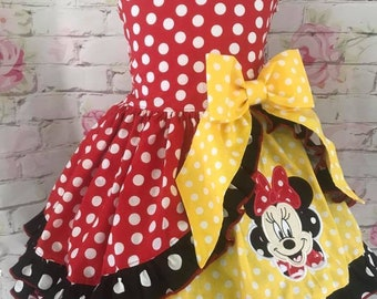 Minnie Mouse twirl dress