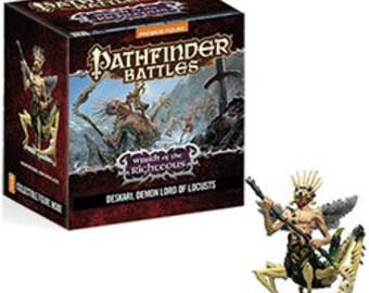 Pathfinder Minis: Gargantuan Shemhazian Demon - 71578 - WizKids