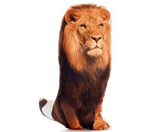 Lion Pillow, Lions, Kids Decor, Lion Cushion, Tribal Pillow, Kids Gift, Kids Pillow, Baby gift, Boy Gift, Toddler gift, Lion, Safari Nursery