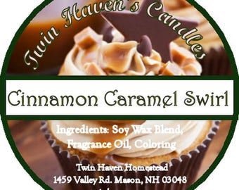 Cinnamon Caramel Swirl (BBW Type)*Scented Candles