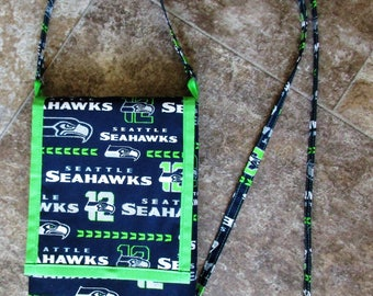 Seattle Seahawks Cross Body Mini Purse