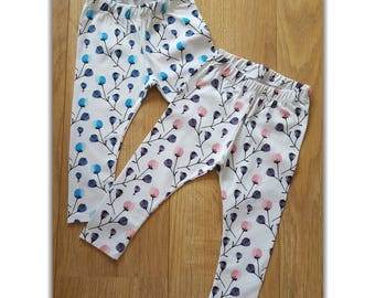 Pink Poppy Leggings 9-12M