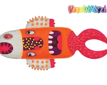 Guberfish Felt Toy