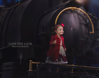 POLAR EXPRESS Limited Time Digital Backdrop