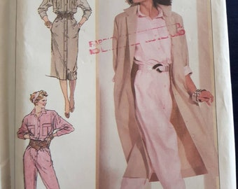 Simplicity 7903, Jumpsuit, Dress, and Coatdress Pattern