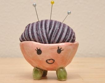 Ceramic Pincushion