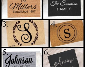 Doormat (Personalized and Customized)