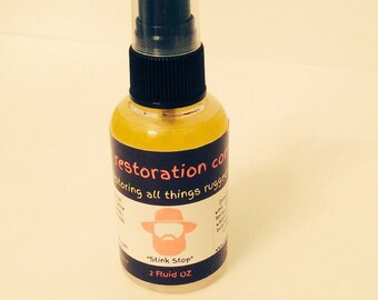 Stink Stop the bathroom odor eliminator.