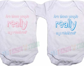 Are these people.. Baby Vest Babygrow Bodysuit