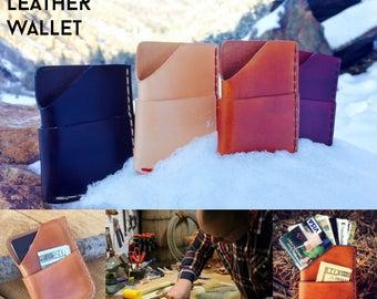 The Tumbleweed Minimalist Leather Wallet