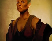 Alien Sigourney Weaver Ar...
