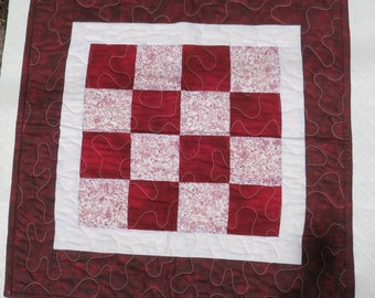 Redwork Doll Quilt/ Cat Mat