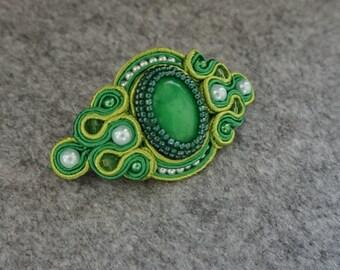 Handmade Soutache Barrette