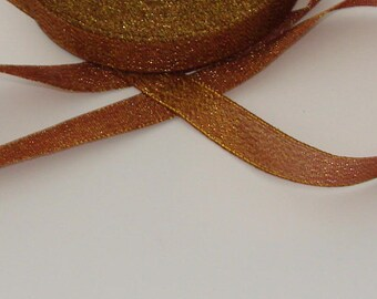 3 m lovely 15mm golden brown trim