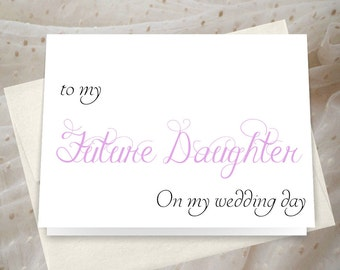 Step daughter card_ custom colors_ daughter card_for a heartfelt note_ JS63