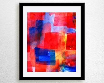 abstract prints, modern art print (No. 6)