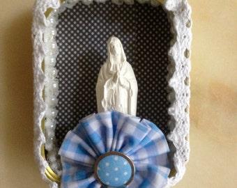 Can of sardines bondieuserie handmade DIY