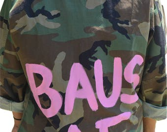 BAUS AF Signature Fatigue Jacket - Army Fatigue - Custom Jacket