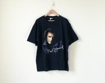 Neil Diamond 1996 Tour T-Shirt - Vintage Band Tee - Neil Diamond T-Shirt - Vintage Band T-Shirt - 90s T-Shirt - Vintage T-Shirt - Men's 2X