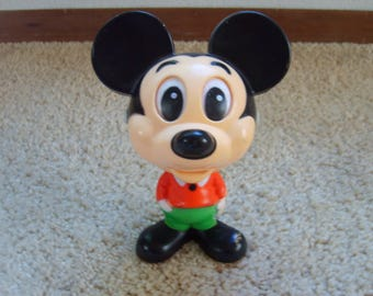 Vintage Toy, Mickey Mouse Talking Toy, Vintage Toy, Mickey Mouse