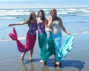 Adult Teen Mermaid Costume
