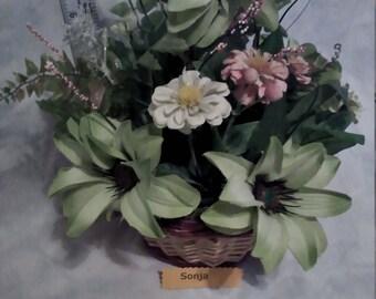 Garden Delight flower basket
