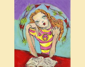 Day Dreamer -8x10 giclee reproduction