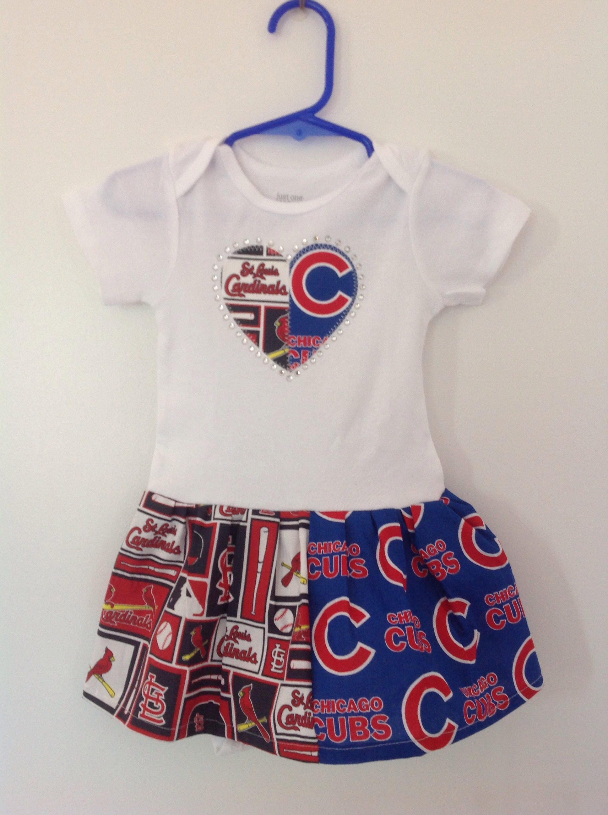 St Louis Cardinals and Chicago Cubs Inspired House Divided