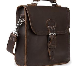 Full Leather Satchel Bag