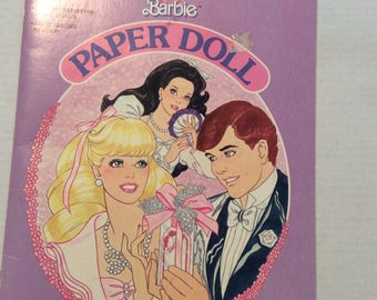 Barbie Paper Doll Book 1988