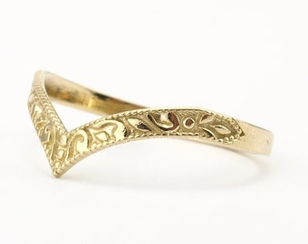 band gold rings wedding regal designs bands simple