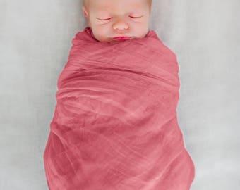 Muslin Swaddle Blanket 100% Cotton