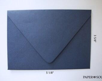 Navy  Blue 4 bar envelopes - set of 10 - high quality (Wholesale Pricing)