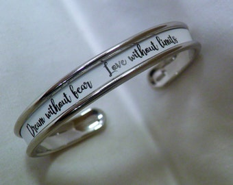 Bracelet with special message