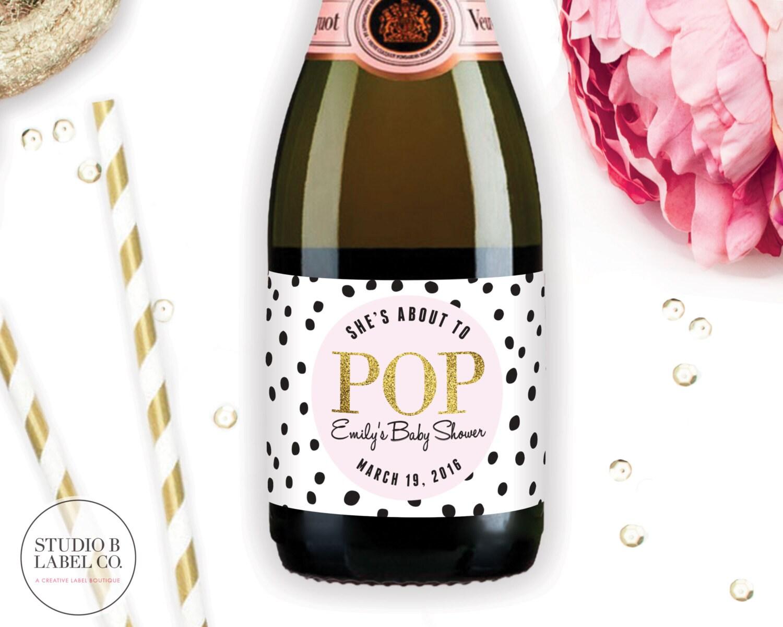 mini champagne bottles wedding favors - Wedding Decor Ideas