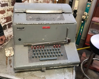 Local Pickup ONLY Jax Fl: Antique Military Teletype Teletypewriter SB-408/UG Chicago