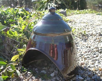 Toad House , Ceramic Toad House , Fairy Garden Hut , Toad Abode , Toad Home , Fairy House , Whimsical Garden Decoration !