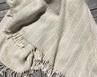 Handwoven Cotton Throw