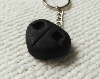 Truffle Dog Nose Keychain
