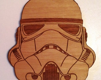 Star Wars Stormtrooper Wooden Fridge Magnet