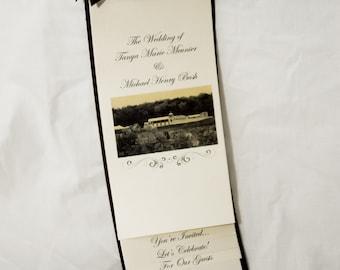 Layered Wedding Invitation Sample