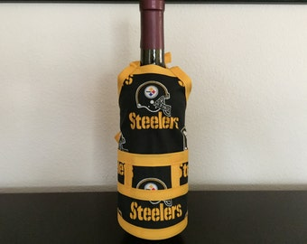 Pittsburg Steelers Wine Bottle Cover