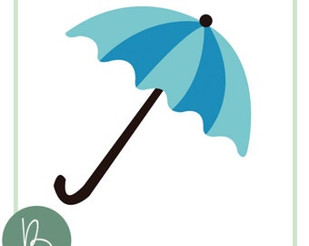 Umbrella SVG File