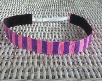 Glitter Striped Headband - Girls Headband
