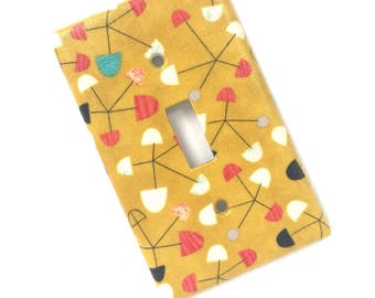 Pinwheel Light Switch Plate Cover