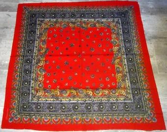 Mico Sancho Vintage Mico Sancho scarf vintage scarf