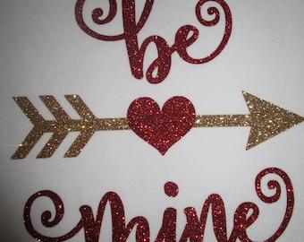 Be Mine Glitter Vinyl Valentine Shirt