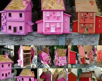 house - wardrobe - box Super gift for girls