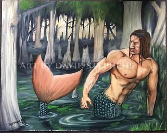 Bayou merman