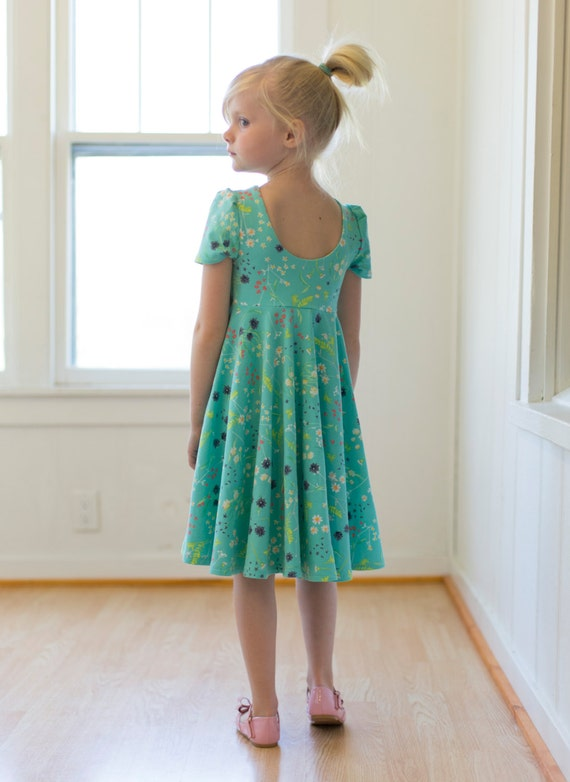 Adelyn\'s Scoop back knit/ woven tunic and dress. PDF